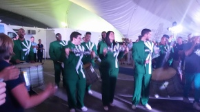And of course ....Drumline was there!