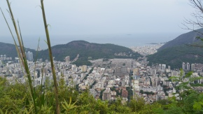 An entirely different view. Seriously, no matter which hill you looked behind there was more of RIO!