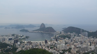 One view that shows a part of Rio.
