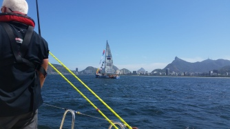 A final look as we head to Copacabana Beach area for start.