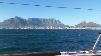 Cape Town with Tabletop Mountain in view