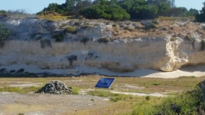 One of the quarries the prisoners worked in.