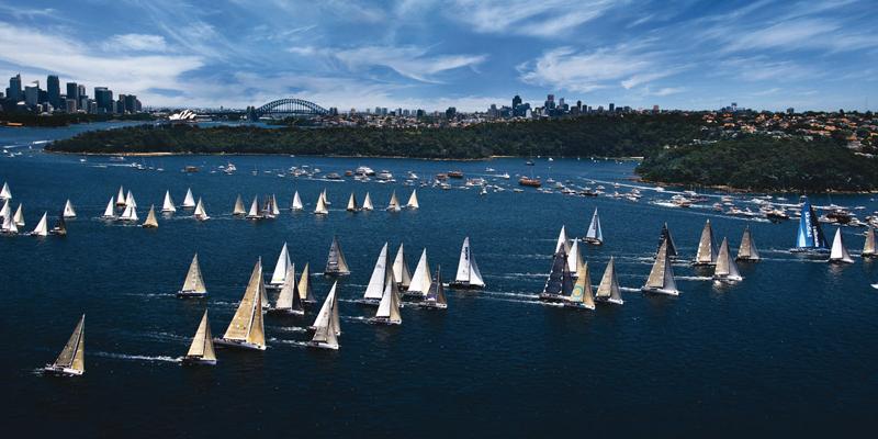 Sydney Hobart start