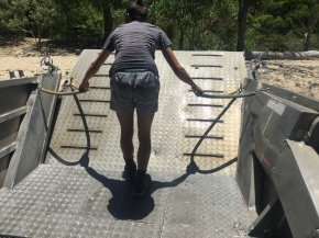 Closing the ramp