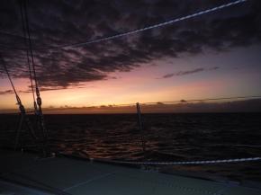 Sunset ending