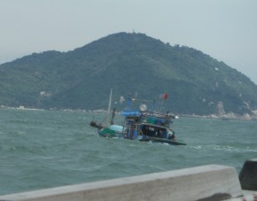 Interesting fishing boats