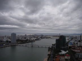 Last sky view of DaNang