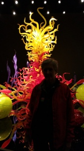 At the Chihuly Glass Museum