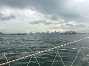 Coming into Panama