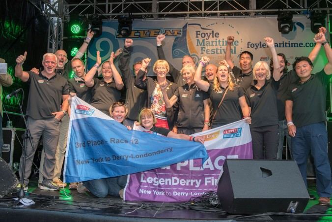 ClipperTelemed Derry prize giving