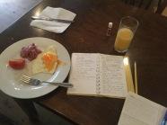 den helder working on blog