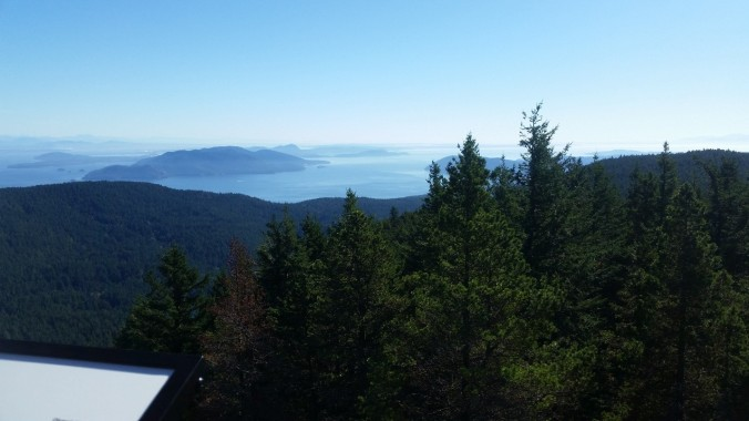 orcas hike view
